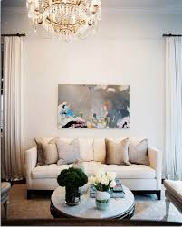 How To Decorate A Long Wall In Living Room by Interior Exciting Neutral Living Room Color Decoration Using