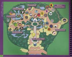 magic kingdom disney map mouseplanet disney stuff walt disney guide to the magic
