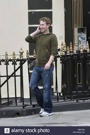 facebook founder mark zuckerberg walks around dublin before