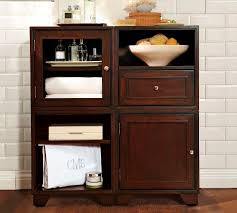 Bathroom Storage Cabinets With Doors Modern Bathroom Exquisite Floor Storage Cabinets Cabinet On At