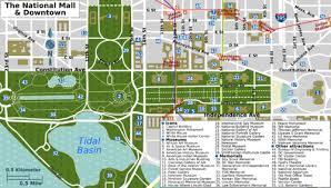 washington dc trolley map washington d c wikitravel