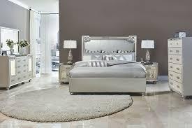 upholstered bedroom set aico 4 pc bel air park upholstered bedroom set usa furniture