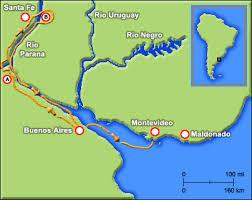parana river map aboutdarwin com beagle voyage