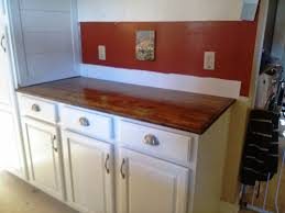 diy wood plank countertops diy wood countertops for kitchens