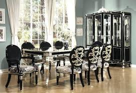 Formal Dining Room Chairs Black Formal Dining Room Set Jcemeralds Co