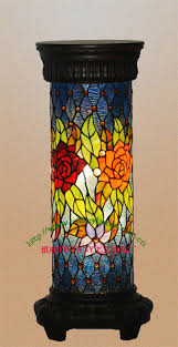 Stained Glass Floor Lamp Glass Floor Lamp Shades The Aquaria