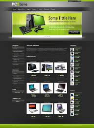 Free Template Html by Free Ecommerce Template For Hardware And Software Website Css