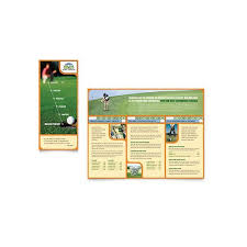 publisher brochure templates 10 microsoft publisher brochure golf template options
