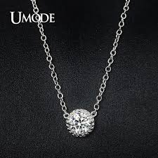 necklaces for aliexpress buy umode trendy top cubic zirconia pendant