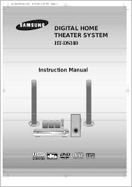ds 9 home theater system samsung ht ds140 user manual 68 pages also for htds140th xaa