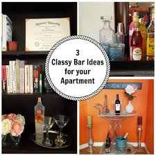 Mini Bar For Home by 3 Classy Mini Bar Ideas For Your Apartment Youtube