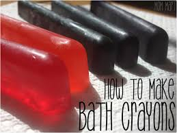 mom mart kid craft how to make bath crayons