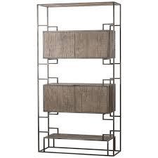 Steel Frame Bookcase Thomas Bina U2013 Stephanie Cohen Home