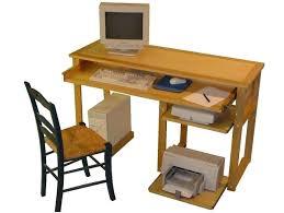 bureau ordinateur bois meuble ordinateur bois bureau informatique en bois bureau ordinateur