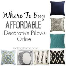 where to buy cheap throw pillows for the home pillows online