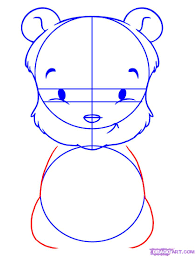 how to draw baby pooh step by step disney characters cartoons