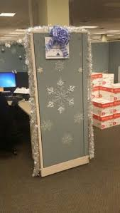 christmas cubicle decorating christmas cubicle decorations 3