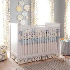 nursery beddings yellow and gray elephant baby bedding also