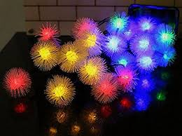 christmas light balls for trees buy rich e snow balls 10m decorative multi color light for diwali