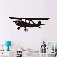 airplane wall art new hot sale home decor airplane wall decal new large wall art sticker mural customized colors vinyl cartoon airplane decal kids gift baby
