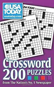 usa today crossword answers july 22 2015 usa today jumbo puzzle book 400 brain games for every day usa