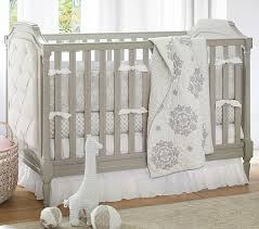 Nursery Bedding Set Genevieve Baby Bedding Set Pottery Barn