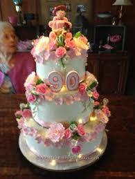 90th birthday floral cake birthday cakes 90 birthday floral