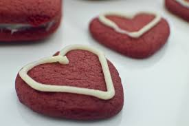 valentine u0027s day red velvet roll out cookies revamperate