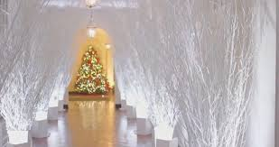 White House Christmas Decorating Liberals Think Melania U0027s Christmas Decorations Are U0027apocalyptic