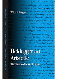 walter a brogan heidegger and aristotle the twofoldness of