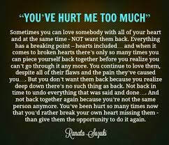 quote love hurt gallery when you hurt quotes life love quotes