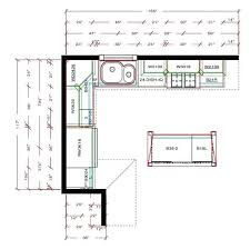l shaped kitchen floor plans with island kitchen floor plans images small kitchen floor plans beautiful