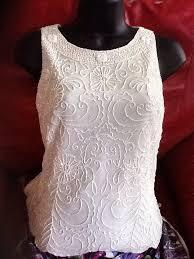 dressy white blouses dressy white beaded blouse small never worn