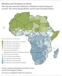 united states of islam map 2016 tolerance and tension islam and christianity in sub saharan
