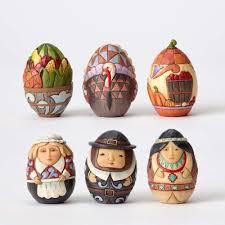 thanksgiving harvest eggs set of 6 jim shore 4053856 holidays
