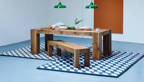 Teal Dining Table by Heal U0027s Umbrian Table