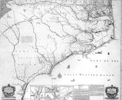 North Carolina Map A New And Correct Map Of The Province Of North Carolina The
