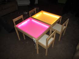 Light Up Drafting Table Hobby Mommy Creations Diy Light Table Ikea Hack
