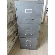 armoire metallique bureau occasion meuble en métal à tiroirs d occasion vintage ancien et industriel