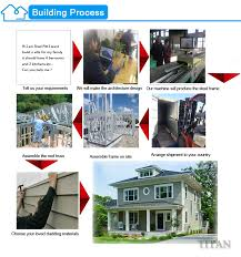prefab a frame cabins prefab house bungalow prefabricated modern steel structure building light steel frame prefab bungalow