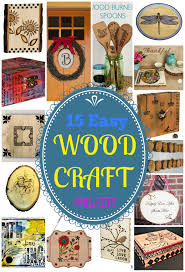15 easy wood craft projects walnuthollowcrafts