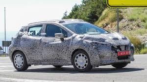 nissan micra limited edition 2017 nissan micra spotted sporting sway concept styling cues