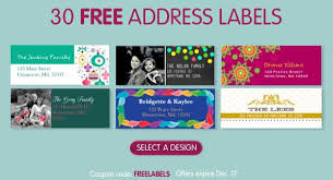 30 free return address labels shipping