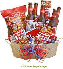 Beer Baskets Dad U0027s Party Beer Gift Bucket