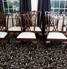 Drexel Heritage Dining Room Furniture Drexel Heritage Chippendale Style Dining Chairs Ebth