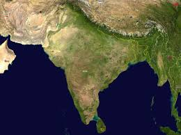 south asia india satellite map maps of india