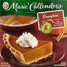 marie calendars thanksgiving marie callender u0027s pumpkin pie 36 oz box walmart com