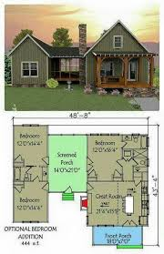 3 bedroom cabin plans plan 92318mx 3 bedroom dog trot house plan porch bedrooms and room