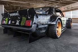 hoonigan cars 845hp 1965 ford mustang awd monster is ken block u0027s car for gymkhana 7