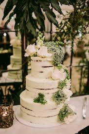 wedding cake greenery chic australian wedding with greenery and gold ruffled